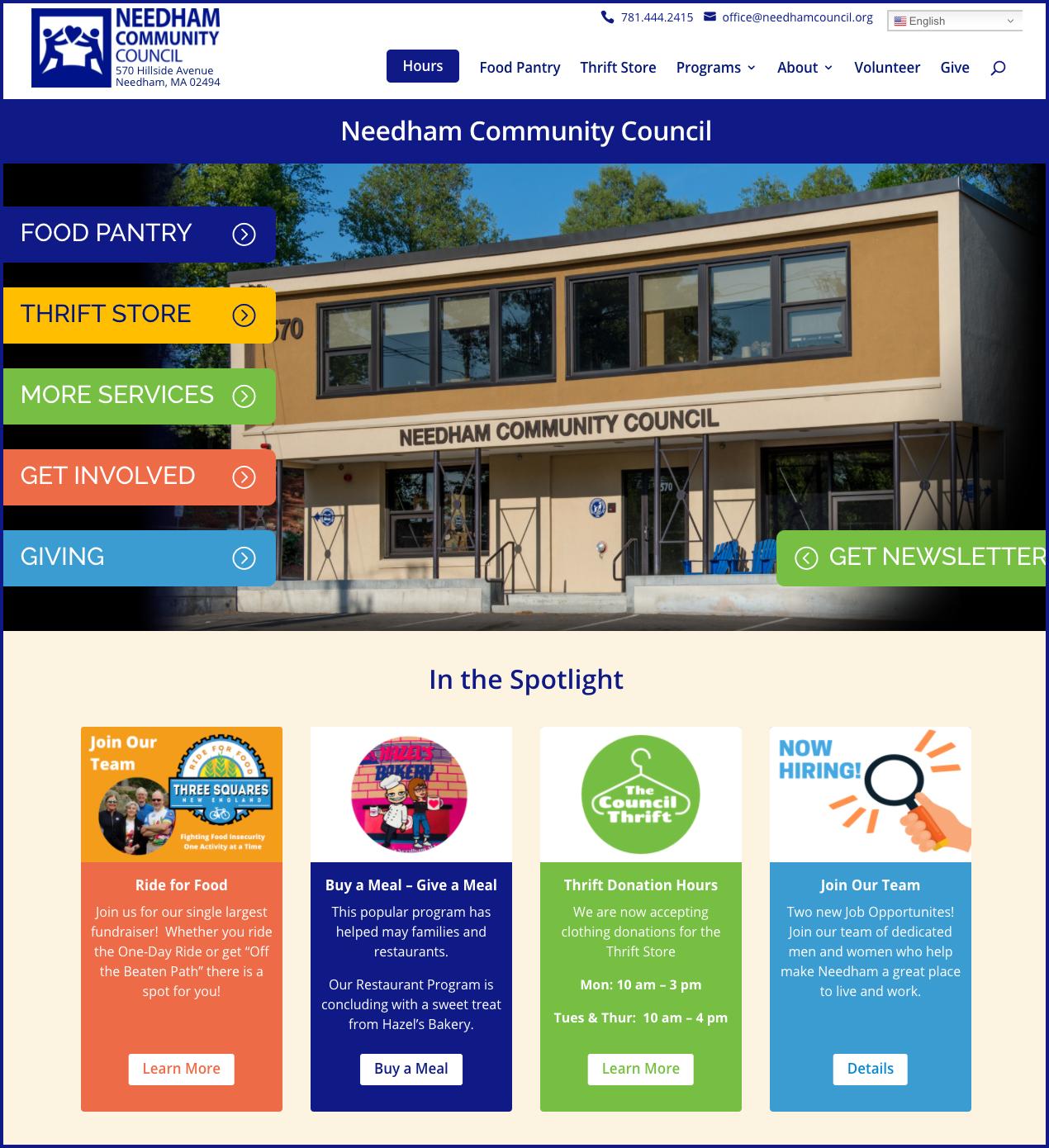 Screenshot of Featured Web Design