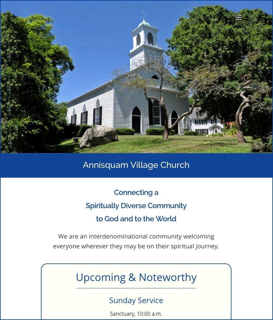 Annisquam Village Church